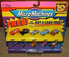 Micro Machines Show Cars #17 Collection w/5 Bonus Cars by Galoob MicroMachines