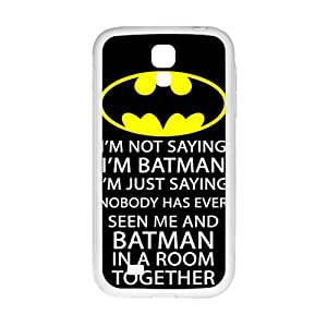Batman logo i'm batman Phone Case for Samsung Galaxy S4 Case