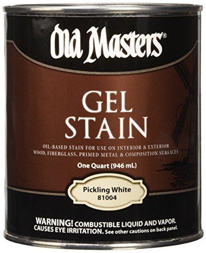 White Wash Gel Stain: OLD 81004 81004 Gel Stain, White