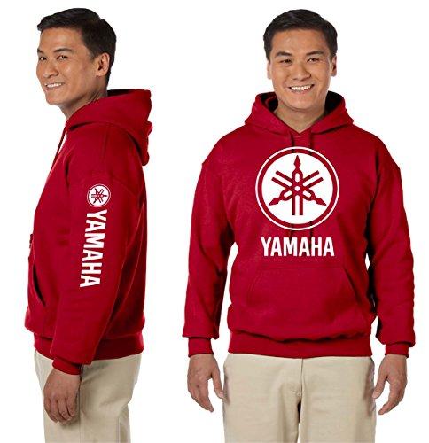 (Yamaha Hooded Sweatshirt Motorcycles Racing Bikes JDM Unisex Hoodie)