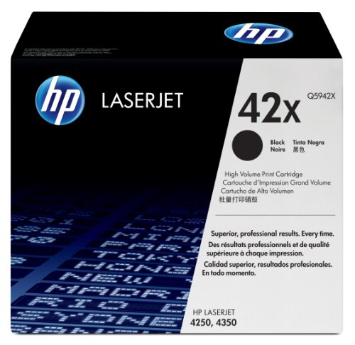 New Micr Printing Solutions (HP 42X (Q5942X) Black High Yield Original Toner Cartridge)