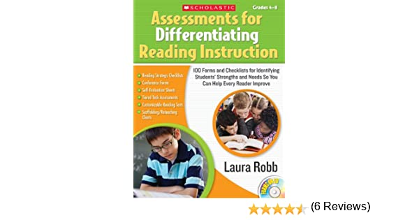 Workbook differentiated instruction worksheets : Amazon.com: Assessments for Differentiating Reading Instruction ...