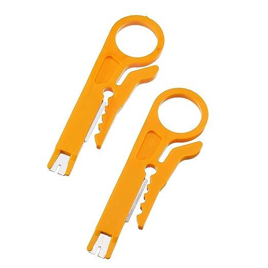 2 alicates pelacables de línea cortada mini herramientas ...