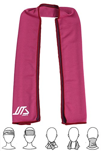 "JUSTA - Instant Cooling Towel, Super Absorbent Snap Cooling Towels for Sports and Fitness (40''x12"")"