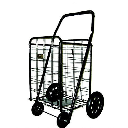 At Home Utility Cart with Wheels Rolling Folding Kitchen ...