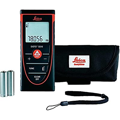 Leica DISTO D210 Laser Distance Measure by Leica