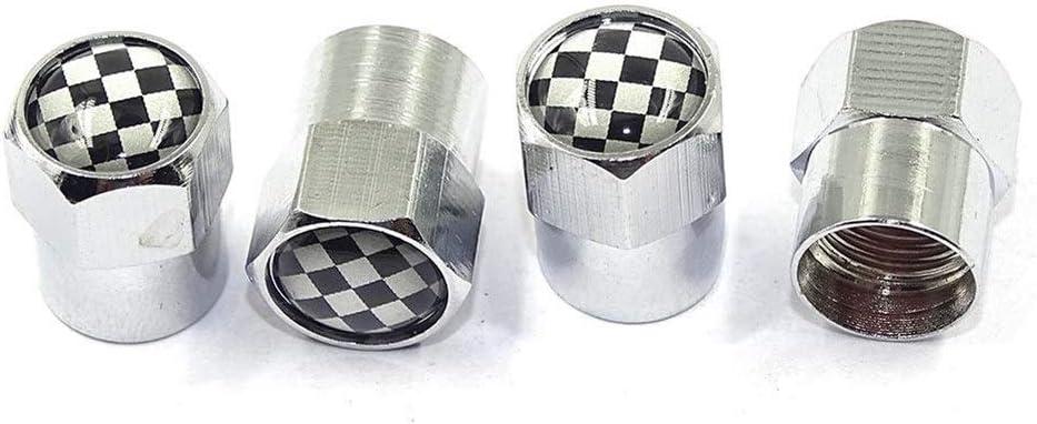 Bouchons de valve Accessoires Auto 6 coins roue des pneus Pi/èces Caps couverture for la tige de valve Mini Cooper Countryman Clubman R55 R56 R60 F54 F55 F56 F60 Couvercle de soupape