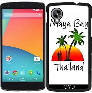 Funda para Google Nexus 5 - Maya Bay Tailandia by loki1982