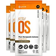 KETO//OS Orange Dream 2.1 CHARGED, BHB Salts Ketogenic Supplement - Beta Hydroxybutyrates Exogenous Ketones for Fat Loss, Workout Energy Boost and Weight Management through Fast Ketosis, 5 Sachets