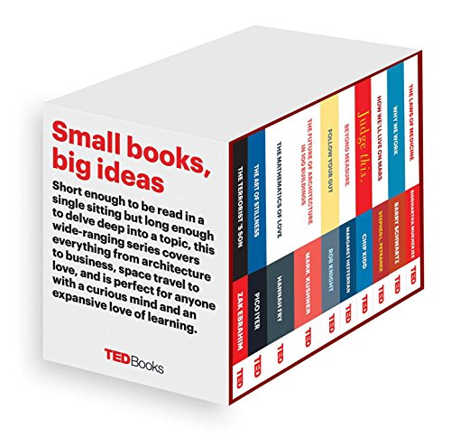 TED Books Box Set: The Completist: The Terrorist's Son, The Mathematics of Love, The Art of Stillness, The Future of Architecture, Beyond Measure, ... The Laws of Medicine, and Follow Your Gut by Simon & Schuster/ TED