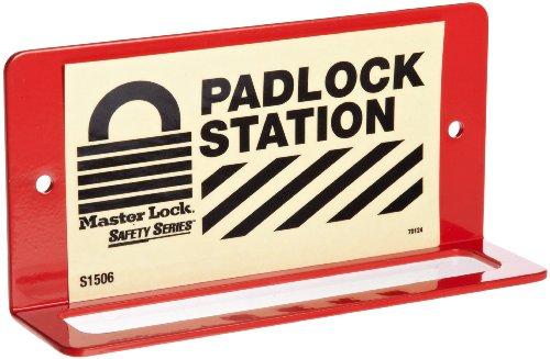 Master Lock 6-Padlock Wall Bracket