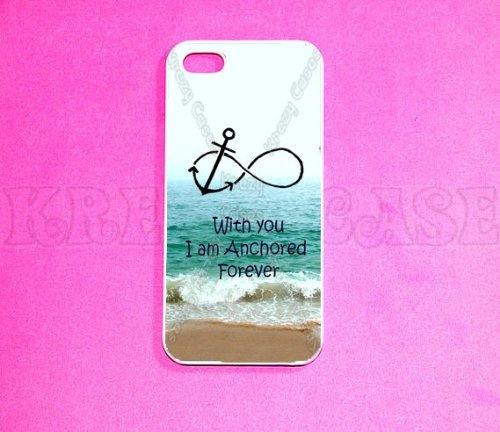 Krezy Case iPhone 6 Plus case, iPhone 6 Plus Case, Forever Anchored, infinity iPhone 6 Plus Cover, iPhone 6 Plus...
