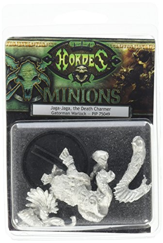 Privateer Press - Hordes - Minion: Jage-Jage The Death Charmer Model Kit 3