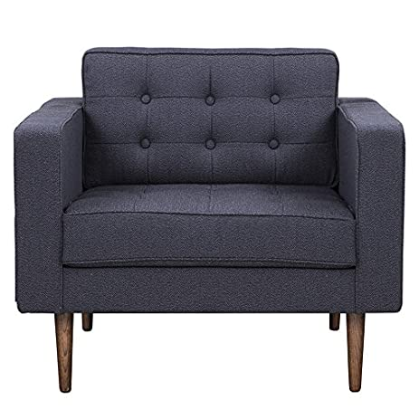 H.D. Buttercup Capetown Accent Chair, Contemporary Armchair, Modern  Furniture Collection, Charcoal