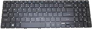 Laptop Keyboard for Acer Aspire AS V5-572 V5-572P V5-572G V5-572PG V5-573 V5-573P V5-573G V5-573PG English US ZRK AEZRKR01010 9Z.NAGBQ.01D NK.I1717.0BD with Backlit & Without Frame
