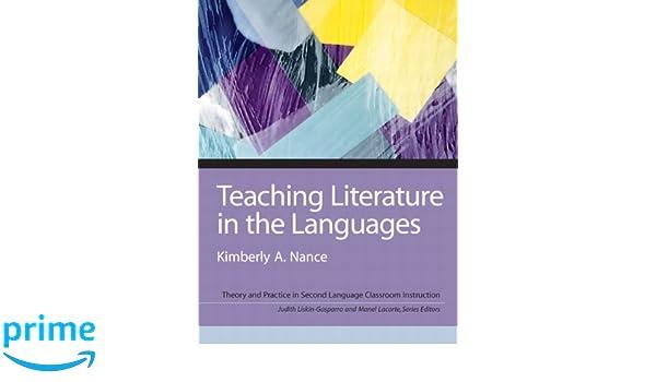 Amazon com: Teaching Literature in the Languages