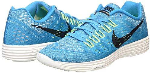Nike Lunartempo Zapatillas de running, Hombre Azul / Negro / Blanco / Verde (Bl Lgn / Blk-Smmt Wht-Ghst Grn)
