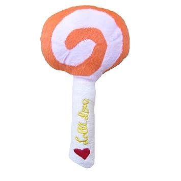 atoys Pet Plüsch Sound Lollipop Super F Cute 5 cm zufällige Farbe ...