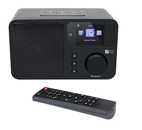 Ocean Digital Wifi Internet Radio WR233, Dual Alarm Clock, 26,000+...