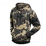 Search : SDolphin Men's Camouflage Hooded Sweatshirt Pullover with Kanga Pocket