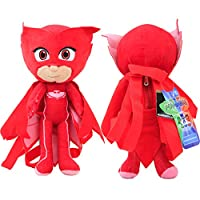 """Disney 14"""" PJ Masks Stuffed Animals Backpack Plush Doll 1Pc Red Color NEW"""