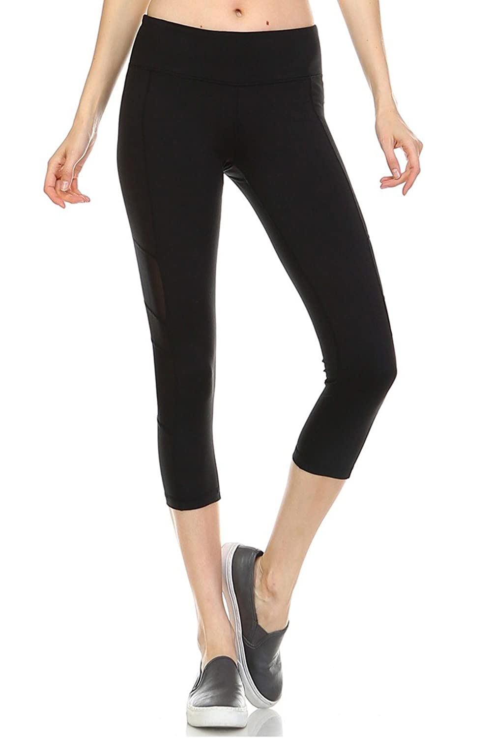 12 Ami Assorted High Waist Stretch Capri Leggings