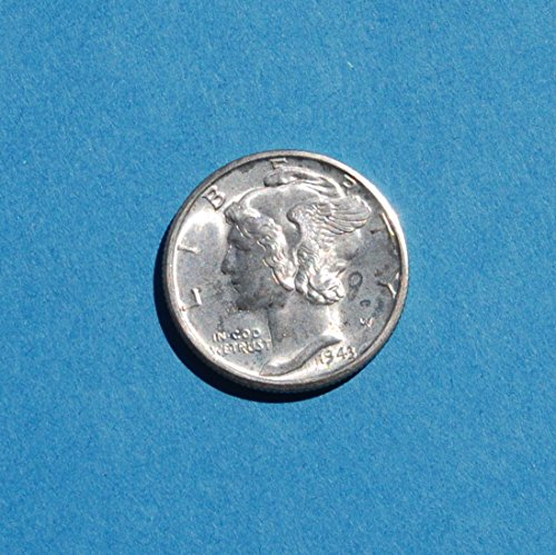 1943 D United States of America 1 Silver (.900) Dime