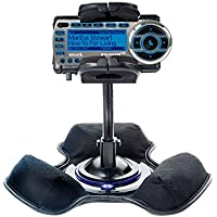 Unique Mounting System Includes Flexible Windshield and Bean Bag Dashboard Mounts to Keep Your Sirius StarMate ST2 Secure in any Car / Truck