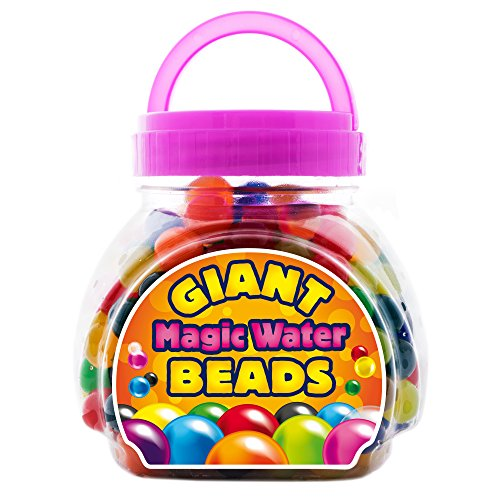 Giraffe - Giant Magic Water Beads - (300 Count) - Jumbo Ball Beads