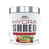 Sparta Nutrition Hydra Shred: Pre-Workout Thermogenic Fat Burner Powder | Best Metabolism Booster, Midsection Fat Burner, Weight Loss Energy Drink to Suppress Appetite, Strawberry Kiwi, 60 Servings