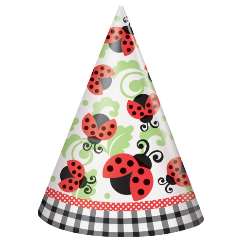 Unique 44101 Ladybug Party Hats