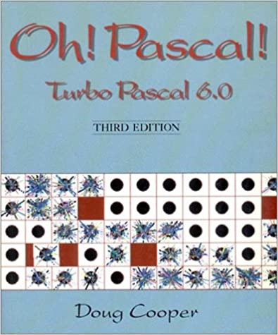 Turbo PASCAL 6.0: 9780393962499: Computer Science Books @ Amazon.com