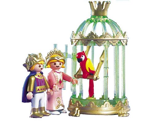 4 Parrot Cage (Playmobil Royal Children w/ Parrot Cage)