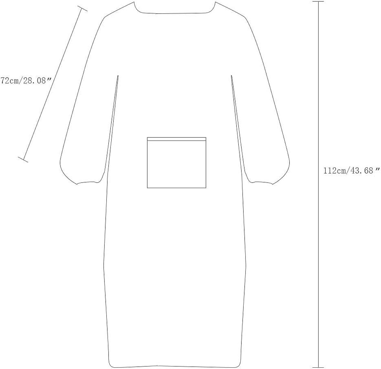 Nanxson Unisex Apron Multi Fuction Waterproof Long Sleeve Home Kitchen Overall Apron CF3015
