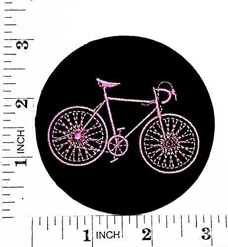 Parche negro para bicicleta de montaña, traje de bicicleta de ...