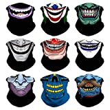 Headband Skull Seamless Clown Bandana Joker Head