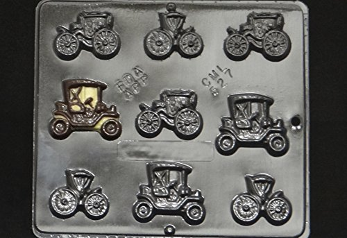Antique Cars Chocolate Candy Mold 527