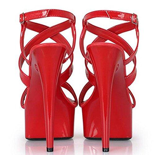 Palabra Para Banquete Plataforma Con Puntera Mujer Sandalias Punta Red Negras Zapatos De Hebilla Gruesa Abierta Impermeable Hxw6aE
