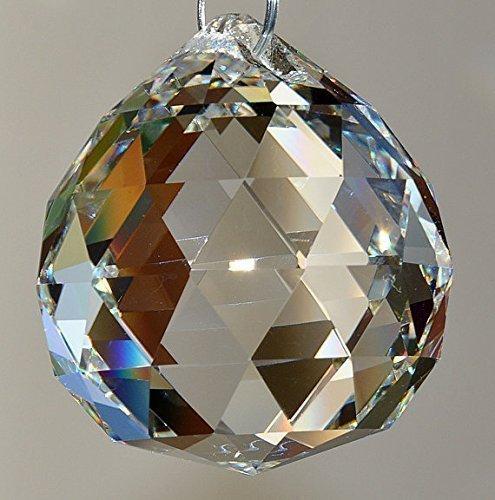 Chakra Rainbow Decoration Crystal Sphere Sun-catcher Hanging Ornament Window Suncatcher