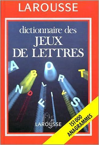 Amazon Fr Dict Des Jeux De Lettres Collectif Livres