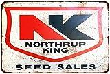 Northrup King Seed Sales Vintage Look Reproduction Metal Sign 8x12 8121789