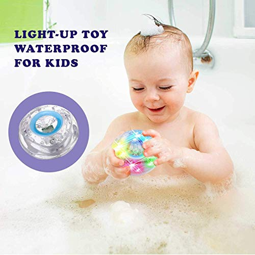 Caseometry Upgraded Light-up Toy Waterproof for Kids Durable Floating Safe for Baby with Instruction Boys and Girls Toddler Toys Children Prime Water Gift Toys Educational Boat Pool Fun by Caseometry (Image #5)