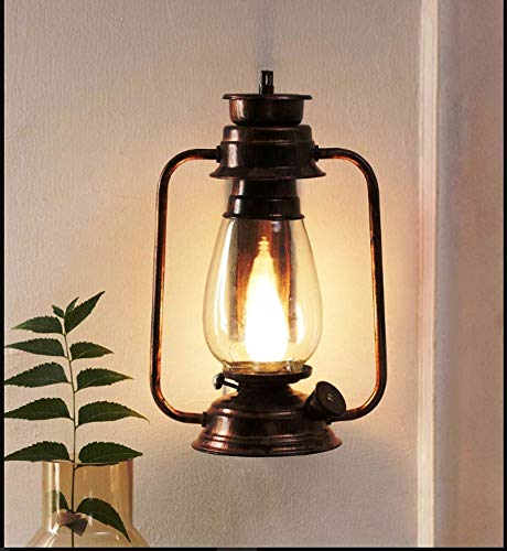 Brightlyts Antique Wall Lantern Light Wall Hanging Light For Bedroom Living Room Home Decor Interior Design Balcony Amazon In Home Kitchen