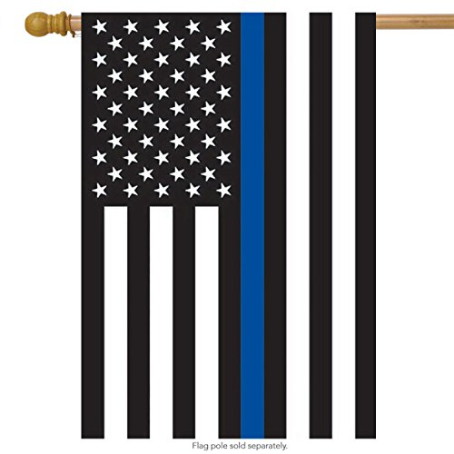 Houses Line (Thin Blue Line Police House Flag Patriotic Emergency Services 28
