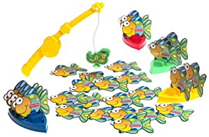 Playchest games go fish toys games for Fisher price fishing pole