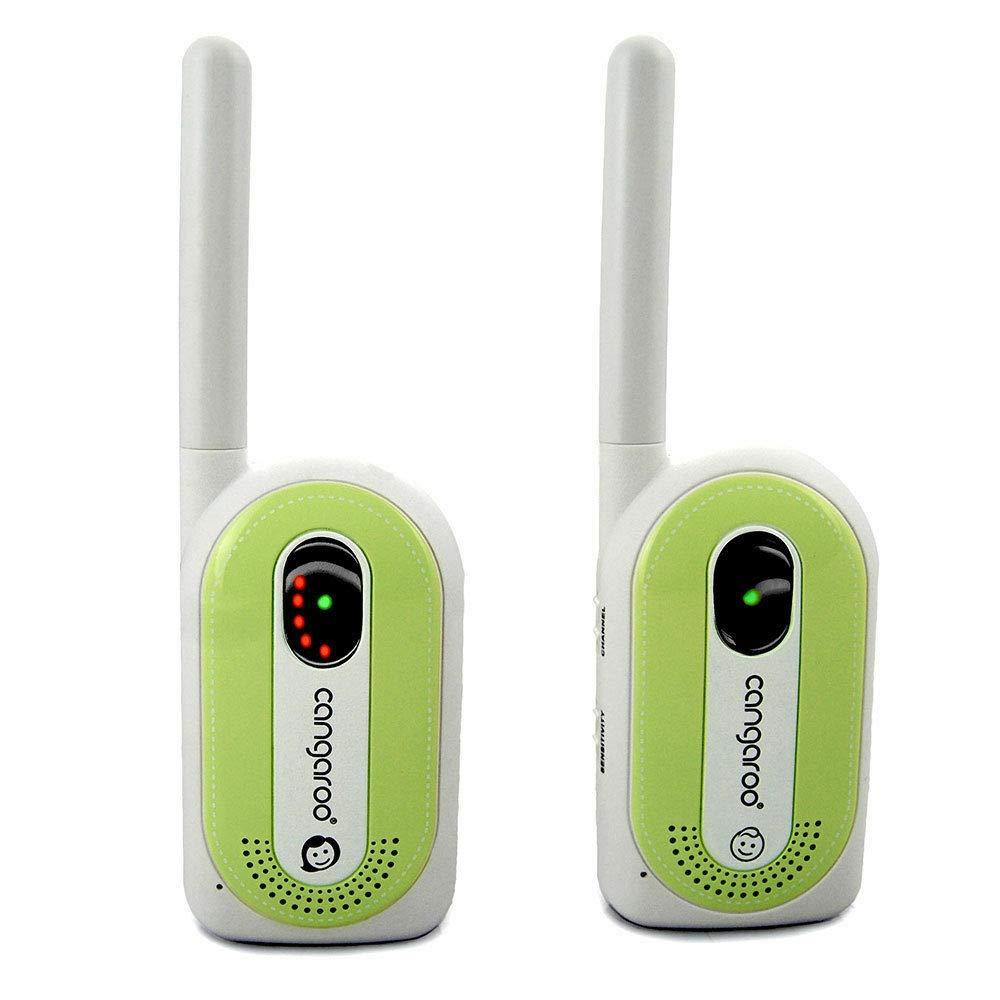 Gr/ün Babyphone Maternal Instinct bis 1,3 km Reichweite Empf/änger mit G/ürtelclip