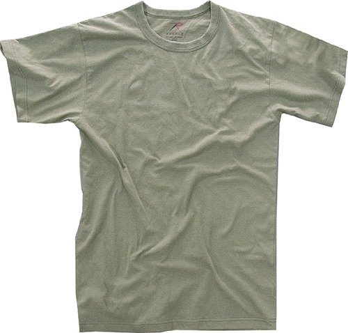 Foliage Green Military Solid Color T-Shirt (100% Cotton) 6370 Size X-Large ()