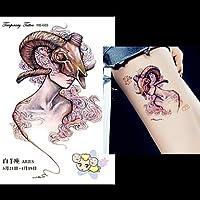 HJLWST® 12pcs tatuaje doce constelaciones escorpión sagitario foto ...