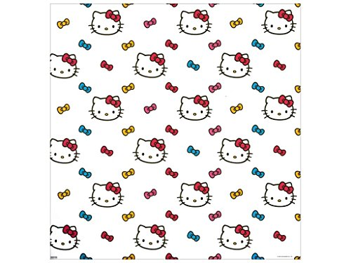 (SandyLion 12 x 12 in. Paper Hello Kitty Ribbons (25 sheets))
