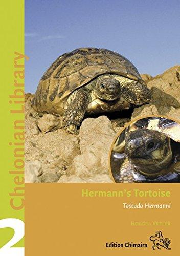 Hermann's Tortoise, Boettger's and Dalmatian Tortoises: Testudo boettgeri, hercegovinensis and hermanni (Chelonian Library, Volume 2)